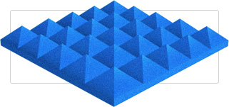 Pyramid Foam Panels