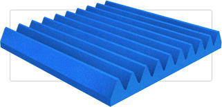 Wedge Foam Panels